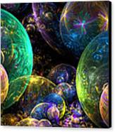 Bubbles Upon Bubbles Canvas Print by Peggi Wolfe