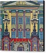 Buckingham Palace Canvas Print by Nicky Leigh