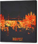 Budapest Hungary Canvas Print by Aged Pixel