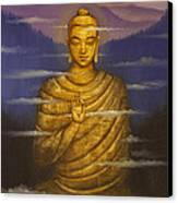 Buddha. Passing Clouds Canvas Print by Vrindavan Das