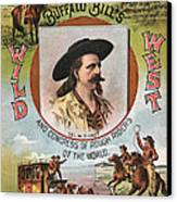 Buffalo Bills Wild West Canvas Print by Unknown