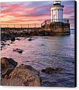 Bug Light Park Canvas Print by Benjamin Williamson