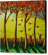 Bugaw Canvas Print by Paul Hilario