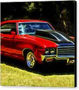 Buick Gsx Canvas Print by motography aka Phil Clark
