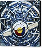 Buick Skylark Wheel Canvas Print by Jill Reger