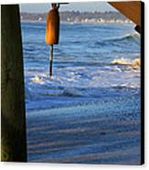 Buoy 1 Canvas Print by Michael Mooney