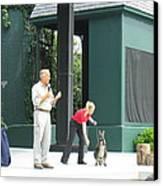 Busch Gardens - Animal Show - 121215 Canvas Print by DC Photographer