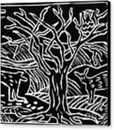 Bushveld Indaba Canvas Print by Caroline Street