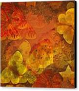 Butterfly Abstract 2 Canvas Print by David Dehner