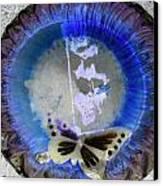 Butterfly Canvas Print by Dietrich ralph  Katz
