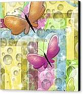 Butterfly Dreams Canvas Print by Karen Sheltrown