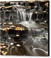 Buttermilk Falls Canvas Print by Shannon Workman