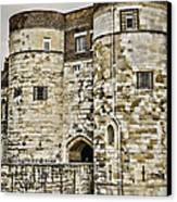 Byward Tower Canvas Print by Heather Applegate