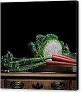 Cabbage And Carrots Canvas Print by Krasimir Tolev