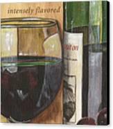 Cabernet Sauvignon Canvas Print by Debbie DeWitt