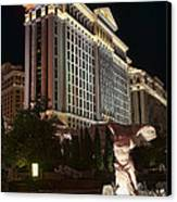 Caesar's Palace Canvas Print by Eddie Yerkish