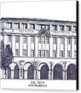 Cal Tech Beckman Canvas Print by Frederic Kohli