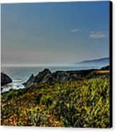 California - Big Sur 003 Canvas Print by Lance Vaughn