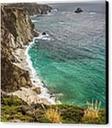 California Coast Canvas Print by Pierre Leclerc Photography