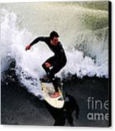 California Surfer Canvas Print by Catherine Sherman