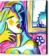 Call Me  Canvas Print by Deborah jordan Sackett