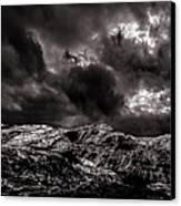 Calm Before The Storm Canvas Print by Bob Orsillo