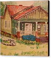 Calvin Baber House Canvas Print by Lynn Beazley Blair