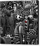 Can 'o' Worms Canvas Print by Matthew Ridgway