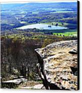 Canaan Valley From Valley View Trail Canvas Print by Thomas R Fletcher