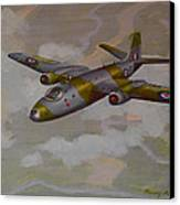 Canberra Sortie Canvas Print by Murray McLeod