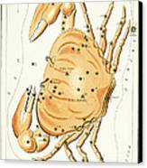 Cancer Constellation - 1825 Canvas Print by Daniel Hagerman