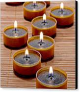 Candles Canvas Print by Olivier Le Queinec