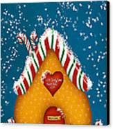 Candy Lane Canvas Print by Brenda Bryant