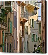 Cannes - Le Suquet - France Canvas Print by Christine Till