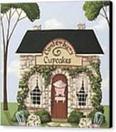 Canterbury Cupcakes Canvas Print by Catherine Holman