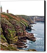 Cap Frehel In Brittany France Canvas Print by Olivier Le Queinec