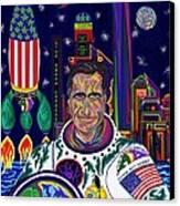 Captain Mitt Romney - American Dream Warrior Canvas Print by Robert SORENSEN