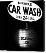 Car Wash Canvas Print by Tom Mc Nemar