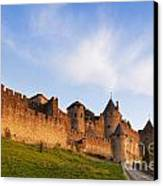 Carcassonne Languedoc Roussillon France Canvas Print by Colin and Linda McKie