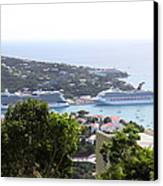 Caribbean Cruise - St Thomas - 1212268 Canvas Print by DC Photographer
