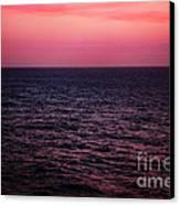 Caribbean Sunset Canvas Print by Kim Fearheiley