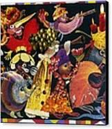 Carnival Canvas Print by Nekoda  Singer