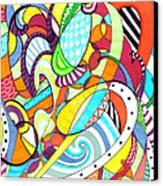 Carnival  Canvas Print by Shawna Rowe