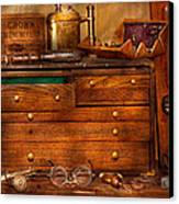 Carpentry - Tools - In My Younger Days  Canvas Print by Mike Savad