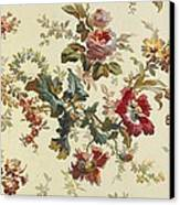 Carpet Design Canvas Print by English School