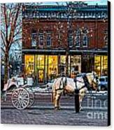 Carriage Ride Canvas Print by Baywest Imaging
