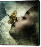 Carried Away By A Scent Canvas Print by Gun Legler