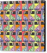 Cars Abstract  Canvas Print by Mark Ashkenazi