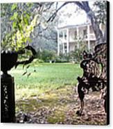 Casa Blanca Canvas Print by Elbe Photography