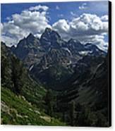 Cascade Canyon North Fork Canvas Print by Raymond Salani III